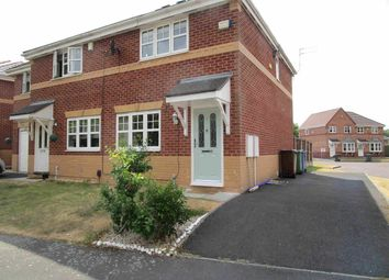 Thumbnail 3 bed semi-detached house to rent in Coltsfoot Close, Leigh, Manchester, Greater Manchester