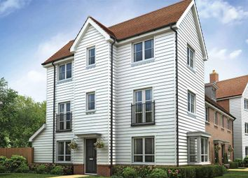 "Thumbnail 4 bed town house for sale in ""The Willington - Plot 20"" at Edmett Way, Maidstone"