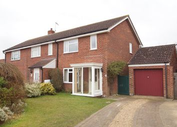 Thumbnail 3 bedroom semi-detached house for sale in Stanhope Close, Snape, Saxmundham