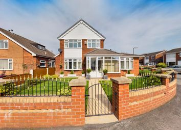 Thumbnail 4 bed detached house for sale in Stott Drive, Flixton, Trafford