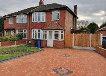 Thumbnail 3 bed semi-detached house to rent in Ashbourne Avenue, Cheadle, Cheshire