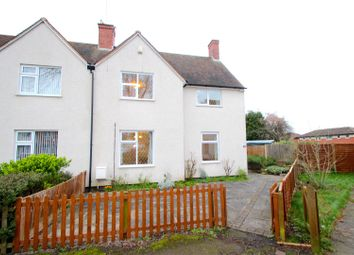 Thumbnail 3 bed semi-detached house for sale in Caldecote Road, Leicester