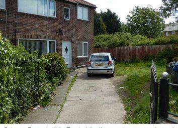 Thumbnail 3 bedroom flat to rent in Ravensburn Gardens, Newcastle Upon Tyne