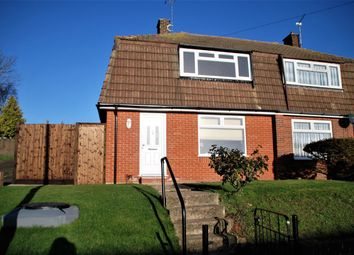 Thumbnail 2 bed semi-detached house for sale in Marley Road, Hoo, Rochester