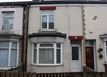 Thumbnail 2 bed terraced house to rent in Edmonton Villas, Ceylon Street, Hull