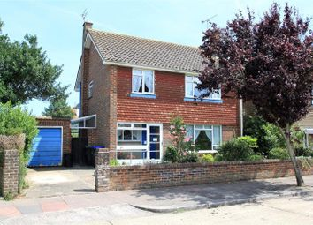 Thumbnail 3 bed detached house for sale in Falmer Close, Goring By Sea, Worthing
