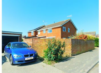 Thumbnail 3 bed end terrace house for sale in Downview Way, Arundel