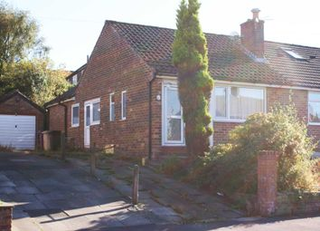 Thumbnail 1 bed semi-detached bungalow for sale in Bramhall Avenue, Bolton