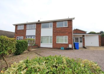Thumbnail 3 bedroom semi-detached house to rent in Borrowdale Drive, Norwich
