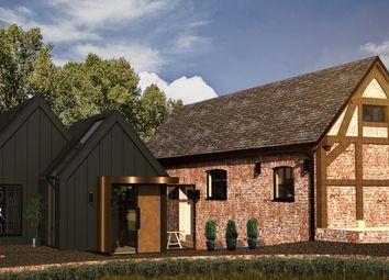 Thumbnail 4 bed barn conversion for sale in Hocker Lane, Over Alderley, Macclesfield