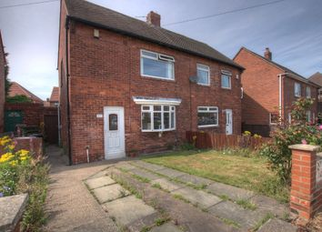 Thumbnail 2 bed semi-detached house for sale in Horton Avenue, Shiremoor, North Tyneside