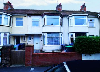 Thumbnail 3 bed terraced house for sale in England Avenue, Blackpool, Lancashire