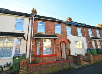 Thumbnail 2 bed terraced house for sale in Church Road, Cheriton, Folkestone, Kent