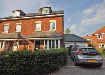Thumbnail 4 bed semi-detached house for sale in Chichester Road, Hellingly, Hailsham
