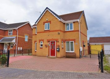 Thumbnail 4 bed detached house for sale in Suddaby Close, Hull