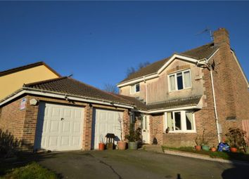 Thumbnail 4 bed detached house for sale in Balmoral Crescent, Okehampton, Devon