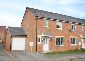 Thumbnail 3 bed end terrace house for sale in Hastings Drive, Shiremoor, Newcastle Upon Tyne