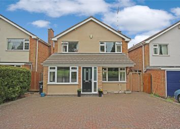 Thumbnail 3 bed detached house for sale in Holly Drive, Lutterworth, Leicestershire