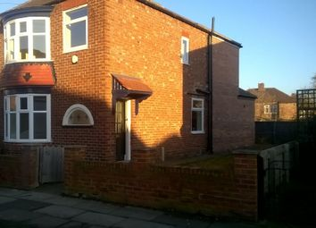 Thumbnail 3 bed semi-detached house to rent in Winchester Road, Linthorpe, Middlesbrough