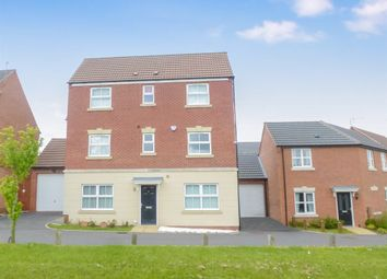 Thumbnail 5 bedroom detached house for sale in Tollerton Close, Hamilton, Leicester
