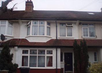 Thumbnail 3 bed terraced house to rent in Storrington Road, Croydon, Surrey