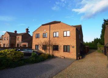 Thumbnail 3 bed semi-detached house for sale in Burnt House Road, Turves, Whittlesey, Peterborough