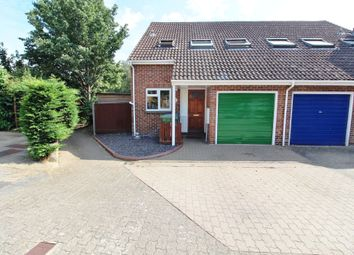 Thumbnail 3 bed end terrace house for sale in Cygnet Court, Portchester, Fareham
