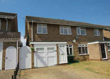 Thumbnail 4 bedroom semi-detached house for sale in Woodhall Drive, Banbury