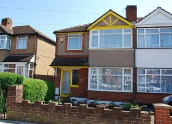 Thumbnail 3 bed semi-detached house for sale in Hiliary Gardens, Stanmore, London, Uk