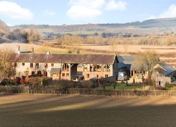 Thumbnail 3 bed barn conversion for sale in Brinshope, Wigmore, Leominster, Herefordshire
