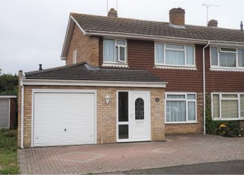 Thumbnail 4 bed semi-detached house for sale in Rushford Close, Ashford