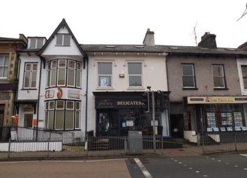 Thumbnail 2 bed flat for sale in High Street, Porthmadog, Gwynedd
