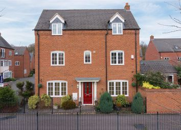 Thumbnail 4 bed detached house for sale in Pipistrelle Drive, Market Bosworth, Nuneaton