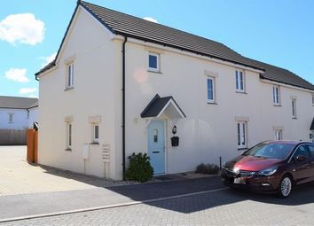 Thumbnail 4 bed semi-detached house for sale in Caraway Close, Camborne