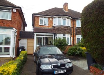 Thumbnail 3 bed semi-detached house for sale in Rosemary Road, Birmingham
