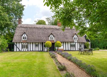 Thumbnail 4 bed detached house for sale in Green Road, Rickling Green, Saffron Walden