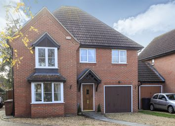 Thumbnail 4 bedroom detached house for sale in Waterfall Gardens, Newborough, Peterborough