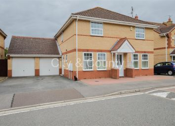 Thumbnail 4 bedroom detached house for sale in Westminster Gardens, Eye, Peterborough