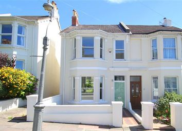 Thumbnail 3 bed semi-detached house for sale in Havelock Road, Brighton