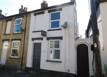 Thumbnail 2 bed end terrace house for sale in Regent Street, Stowmarket