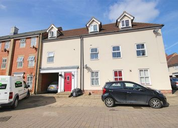 Thumbnail 3 bed flat to rent in Hatcher Crescent, Colchester, Essex