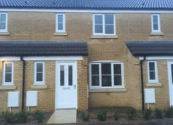 Thumbnail 3 bed terraced house to rent in Hunton Road, Oulton, Lowestoft
