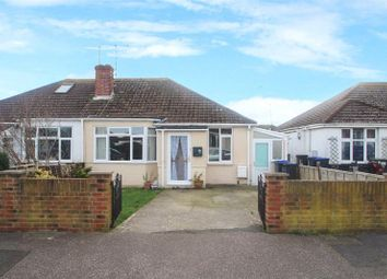 Thumbnail 2 bed semi-detached bungalow for sale in Gordon Road, Lancing, West Sussex