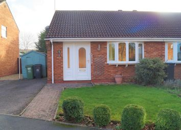 Thumbnail 2 bed semi-detached bungalow for sale in Northleach Close, Worcester