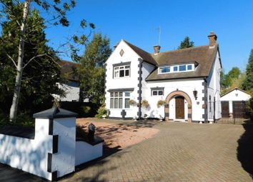 Thumbnail 4 bed detached house for sale in Broom Leys Road, Coalville