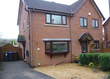 Thumbnail 2 bed semi-detached house for sale in Cambridge Close, Gillow Heath, Stoke On Trent