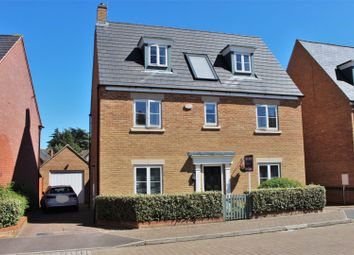 Thumbnail 4 bed detached house for sale in Norman Snow Way, Duston; Northampton