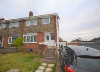 Thumbnail 3 bed semi-detached house for sale in Monkstone Rise, Rumney, Cardiff.