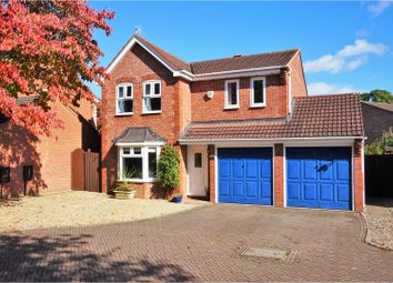 Thumbnail 4 bed detached house for sale in Bearcroft Avenue, Worcester