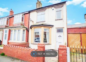 Thumbnail 3 bedroom semi-detached house to rent in Braithwaite Street, Blackpool